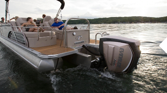 Power your boat with Evinrude