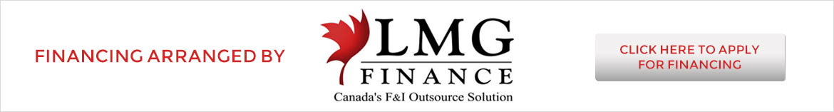 Financing arranged by LMG Finance. Click to apply today!