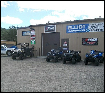 ELLIOT EQUIPMENT RENTALS, SALES & SERVICE
