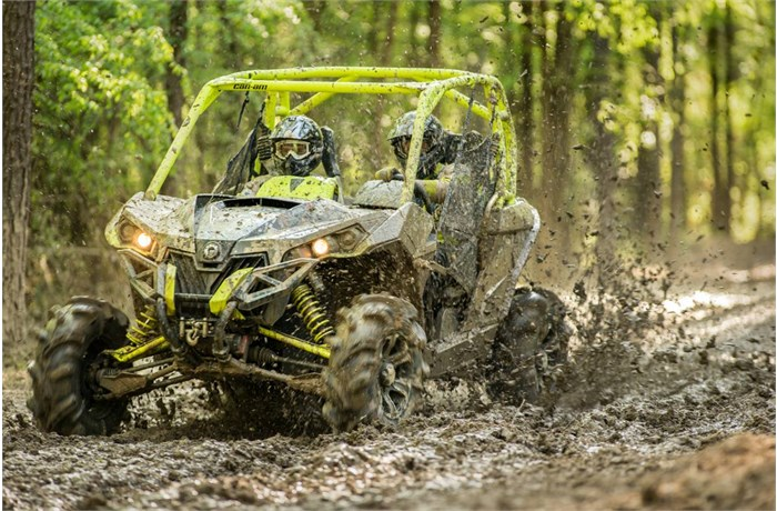 Can-Am Mud Side by Sides
