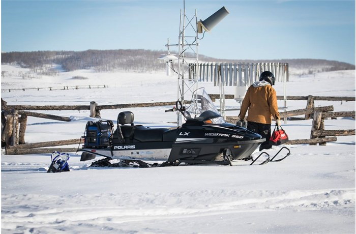 Polaris WideTrak Snowmobiles