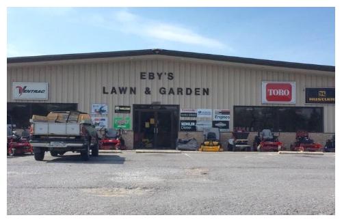 Home Eby's Lawn & Garden Hagerstown, MD (301) 733-4158