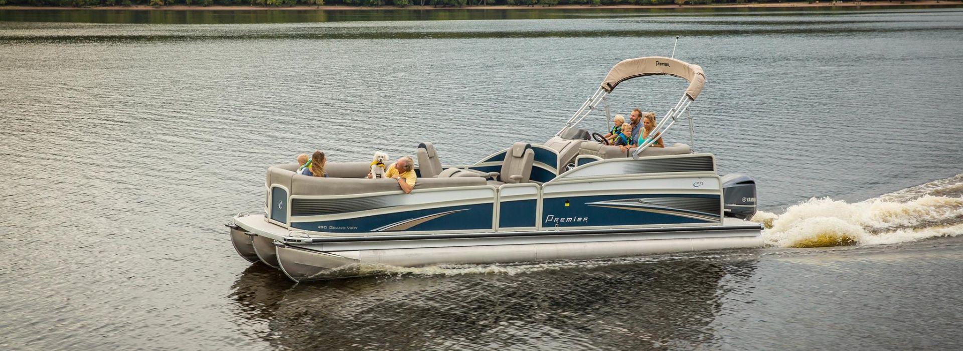 Premier Ski Fishing Pontoon Boat Dealer In South Florida