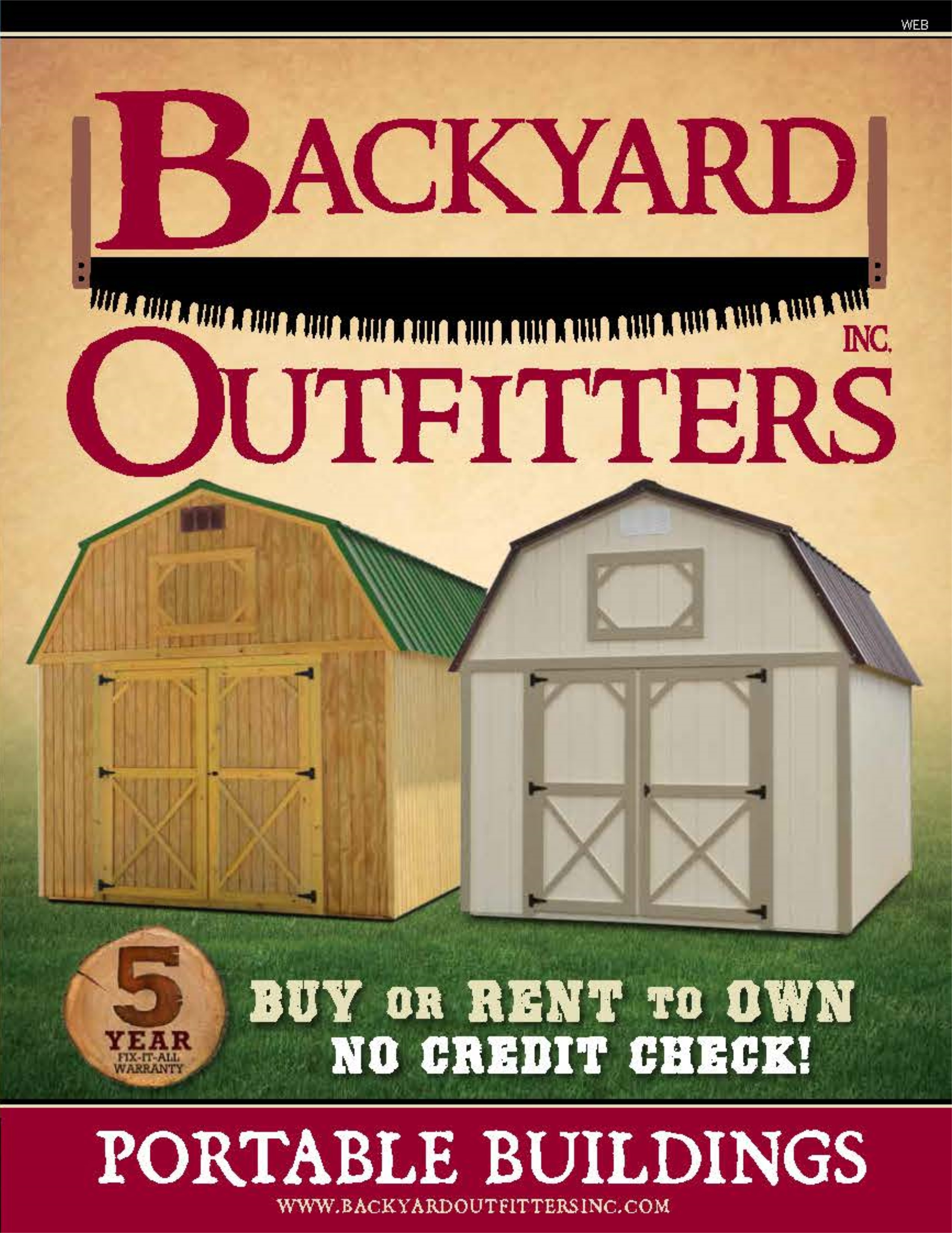 BACKYARD OUTFITTERS BROCHURE 2017