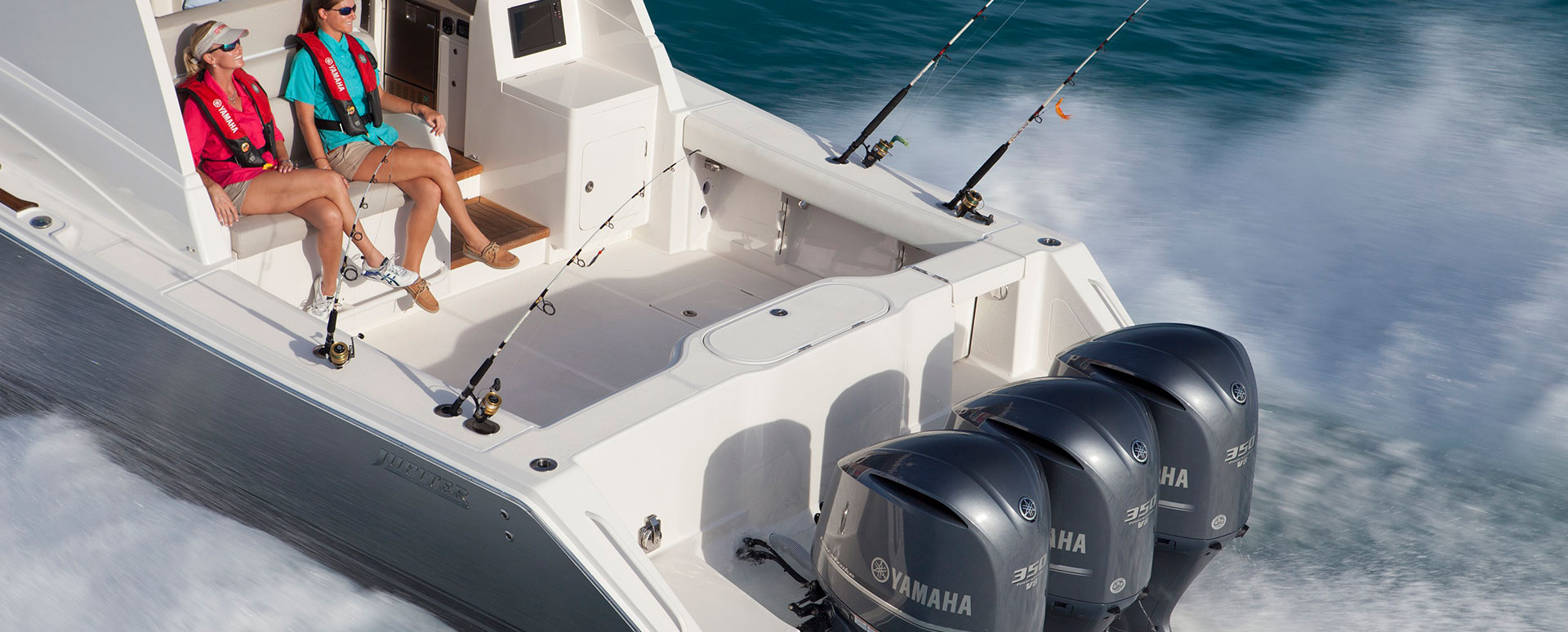 West Coast Marine offers Yamaha F350C V8 Outboards